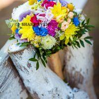 заказать стильный букет невесты в Краснодаре