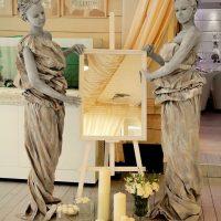 Живые статуи на фуршет вечеринку в Краснодаре