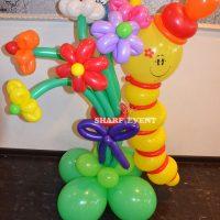 Оформление шарами детских праздников в Краснодаре