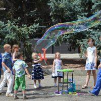 Мыльные пузыри в Краснодаре