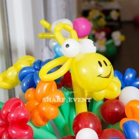Оформление шарами в Краснодаре на детский день рождения