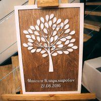 Заказать оригинальное дерево пожеланий на свадьбу в Краснодаре