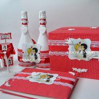 Заказать свадебный набор ручной работы в Краснодаре