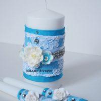 Купить свадебные свечи для семейного очага в Краснодаре
