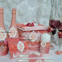 Свадебный набор ручной работы в Краснодаре