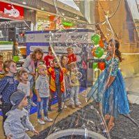шоу мыльных пузырей в Краснодаре