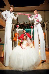 Организация стильных свадеб в Краснодаре и Краснодарском крае. Шоу на праздник