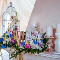Оформление свадьбы в рустикальном стиле в Краснодаре