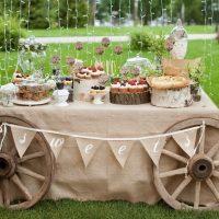 эко-свадьба кенди бар